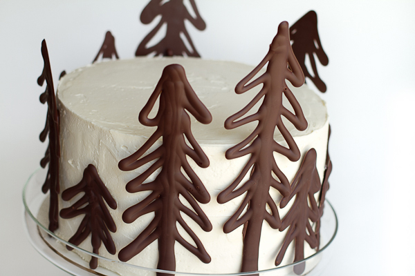 Chocolate Raspberry Forest Cake