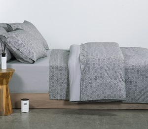 ELEMETS SET SHEETS DOUBLE SIZE CARTER grey 1