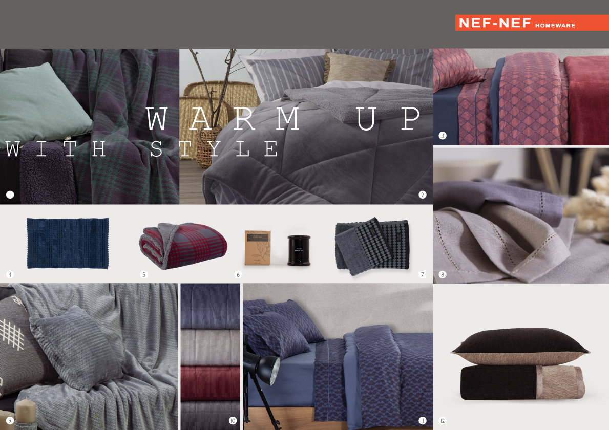 Warm Up with NEF NEF Homeware