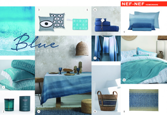 The BLUE Collection Nef-Nef Homeware
