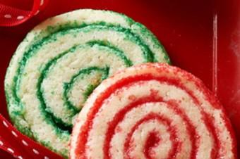 Χριστουγεννιάτικα χρωματιστά μπισκότα