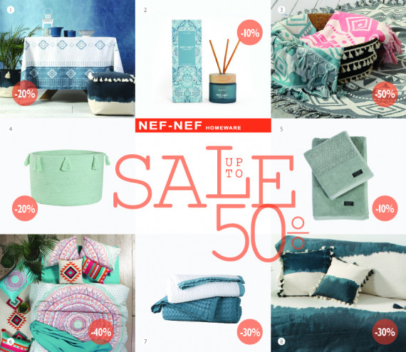 Summer Sales Essentials by NEF-NEF Homeware